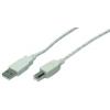 LogiLink USB2.0 A/B kábel  3 m