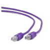 Gembird UTP kat.5e RJ45 patch kábel  3m  ibolya
