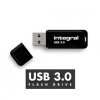 Integral flash memory USB 3.0 - 16GB NEON NOIR - Up to 80MB/s Read- 10MB/s Write