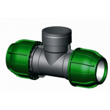 IRRITEC KPE T idom belső menettel 40x5/4x40 öntözéstechnikai alkatrész