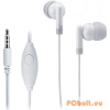 Genius HS-M200 Headset White Mobil headset,2.0,3.5mm,Kábel:1,2m,32Ohm,20Hz-20kHz,Mikrofon,White