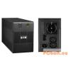 EATON 5E 650i USB DIN vonali-interaktív 1:1 UPS 650VA 650VA,USB,360W, lásd részletek,RJ11 Tel/fax