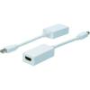 Kijelző csatlakozó / HDMI TV, Monitor Adapter 1x - 1x Fehér Digitus