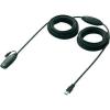 USB 3.0 hosszabbító kábel 10 m, fekete