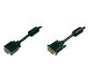 Digitus DVI / VGA TV, Monitor csatlakozókábel 1x - 1x VGA dugó 2 m Fekete Digitus kábel és adapter