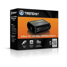 Trendnet TE100-S5 5-Port 10/100 Mbps GREENnet switch TE100-S5 hub és switch