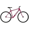 28″-os 18 sebességes city bike kerékpár, 48-as, bordó (Stucchi Stanton)