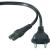Belkin Áram  csatlakozókábel [1x kisfeszültségű készülék dugó C8 - 1x Euro-dugó] 1.80 m fekete Belkin