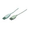 USB 2.0 hosszabbító, 5 m Bulk