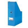 Leitz Iratpapucs, PP/karton, 95 mm, lakkfényű, LEITZ Click&Store, kék (E60470036)