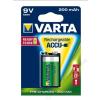 Varta Tölthető elem, 9V, 1x200 mAh, előtöltött, VARTA Power Accu (VAKU10)