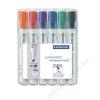 STAEDTLER Táblamarker készlet, 2,5 mm, vágott, STAEDTLER Lumocolor 351 B, 6 különböző szín (TS351BWP6)