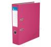 VICTORIA Iratrendező, 75 mm, A4, PP/karton, VICTORIA, Basic, rózsaszín (IDI75RN) irattartó