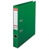 ESSELTE Iratrendező, 50 mm, A4, PP/PP, élvédő sínnel, ESSELTE Standard, zöld (E811460)