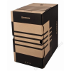 DONAU Archiváló doboz, A4, 200 mm, karton, DONAU, natúr (D76634N)