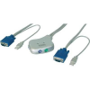 Digitus DIGITUS Pocket KVM Switch PS/2, 2-Port für USB PC