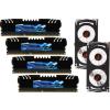 G.Skill F3-19200CL10Q-32GBZHD RipjawsZ ZHD DDR3 RAM 32GB (4x8GB) Quad 2400Mhz CL10
