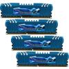 G.Skill F3-2133C10Q-16GZM RipjawsZ ZM DDR3 RAM 16GB (4x4GB) Quad 2133Mhz CL10
