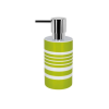 Spirella 10.17277 Tube-Stripes folyékony szappanadagoló, kiwi