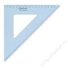 STAEDTLER Háromszög vonalzó, műanyag, 45°, 25 cm, STAEDTLER Mars, átlátszó kék (TS5672645)