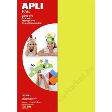 APLI Moosgumi, 210x297 mm, APLI Eva Sheets, vegyes neon színek (LCA13556) dekorgumi