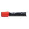 STAEDTLER Alkoholos marker, 2-12 mm, vágott, STAEDTLER Lumocolor 388, piros (TS3882)
