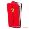 Ferrari Galaxy S4 Flip tok,Piros
