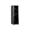 Linkbasic rack cabinet 19\'\' 32U 600x800mm black (smoky-gray glass front door)