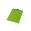 PANTA PLAST Felírótábla, fedeles, A4, sarokzsebbel, PANTAPLAST, pasztell zöld (INP314328PZ)