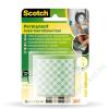 3M Scotch Ragasztó négyzetek, 16 db/csomag, kétoldalú, 3M SCOTCH (LP111)