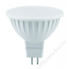LED LED izzó, MR16, GU5.3-as foglalat, 300lm, 4W, 3000K, meleg fehér, ACME (ALED17)