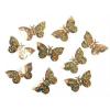 lepke konfetti hologramos arany-KONS32-(15 gr)