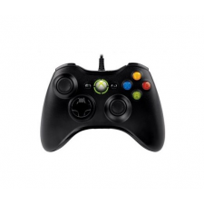 Microsoft GAME XB360/PC Kontroller Wireless Fekete JR9-00010 videójáték