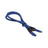 Bitfenix 4-Pin ATX12V hosszabbító 45cm - sleeved kék/kék