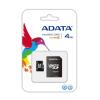 ADATA MICRO SDHC CARD 4GB ADATA CL4