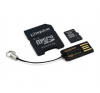 Kingston Card MICRO SD Kingston 4GB 1 Adapter G2 USB reader CL4 memóriakártya