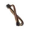 Bitfenix 8-Pin EPS12V hosszabbító 45cm - sleeved arany/fekete