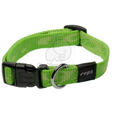 Rogz Alpinist Lime nyakörv M (HB23-G) nyakörv, póráz, hám kutyáknak
