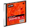 ACME DVD+R lemez, kétrétegű, 8,5GB, 8x, vékony tok, ACME