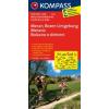 Meran - Bozen és környéke kerékpártérkép - Kompass FK 3414