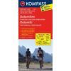 Dolomiten - Pustertal und seine Seitentäler (Dolomiti - Val Pusteria e Valli laterali) kerékpártérkép - Kompass FK 3413