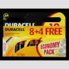 DURACELL BSC 12 db AA elem