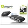 Muvit Muvit SD/microSD kártyaolvasó USB/micro USB csatlakozóval - Muvit Reader 4in1 - black