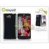 Muvit LG D605 Optimus L9 II hátlap - Muvit miniGel Glazy - black