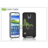 CASE-MATE Samsung SM-G900 Galaxy S5 hátlap - Case-Mate Slim Tough - black/silver