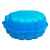 Paradiso Kagyló alakú homokozó, Kék