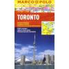 Toronto vízhatlan várostérkép tömegközlekedéssel - Marco Polo