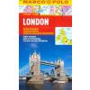 London vízhatlan várostérkép tömegközlekedéssel - Marco Polo
