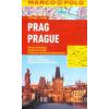 Prága vízhatlan várostérkép tömegközlekedéssel - Marco Polo