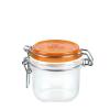 Bormioli Rocco 72494 Csatos üveg 200 ml narancs